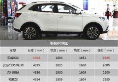 荣威RX3降价2万 售价6万起的SUV值不值得